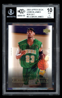 LeBron James 2003 Upper Deck Box Set #6 (BGS 10) at PristineAuction.com