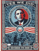 """Shepard Fairey Signed 11x14 Photo Inscribed """"08"""" (JSA COA) at PristineAuction.com"""
