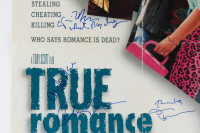 """True Romance"" 27x40 Poster Cast-Signed by (13) with Dennis Hopper, Brad Pitt, Gary Oldman, Christian Slater, Patricia Arquette, Christopher Walken (JSA LOA) at PristineAuction.com"