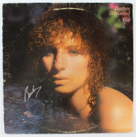 "Barbra Streisand Signed ""Wet"" Vinyl Record Album Cover (JSA Hologram) at PristineAuction.com"