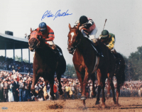 Steve Cauthen Signed 16x20 Photo (PSA LOA & Steiner Hologram) at PristineAuction.com