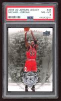 Michael Jordan 2009-10 Upper Deck Michael Jordan Legacy Collection #48 1998 NBA Champions (PSA 8) at PristineAuction.com
