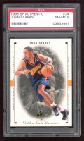 John Starks 1998-99 SP Authentic #34 (PSA 8) at PristineAuction.com