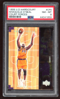 Shaquille O'Neal 1999-00 Upper Deck Hardcourt Court Forces #CF5 (PSA 8) at PristineAuction.com