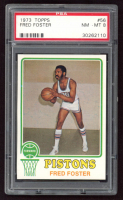 Fred Foster 1973-74 Topps #56 (PSA 8) at PristineAuction.com