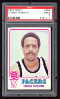 Donnie Freeman 1973-74 Topps #254 (PSA 9) at PristineAuction.com