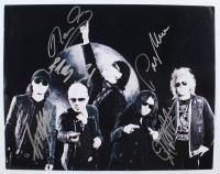 The Scorpions 11x14 Photo Signed by (5) with Rudolf Schenker, Klaus Meine, Matthias Jabs, Pawel Maciwoda & James Kottak (JSA ALOA) at PristineAuction.com