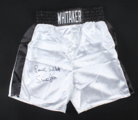 "Pernell ""Sweet Pea"" Whitaker Signed Boxing Trunks (JSA COA) at PristineAuction.com"