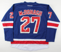 Ryan McDonagh Signed Rangers Captain Jersey (Beckett COA) at PristineAuction.com