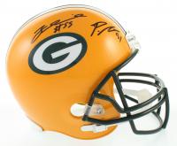 Za'Darius Smith & Preston Smith Signed Packers Full-Size Helmet (Beckett COA) at PristineAuction.com