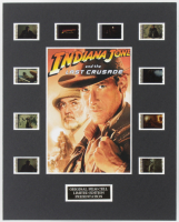 """""""Indiana Jones And The Last Crusade"""" LE 8x10 Custom Matted Original Film / Movie Cell Display at PristineAuction.com"""