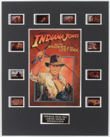 """Indiana Jones And The Raiders Of The Lost Ark"" LE 8x10 Custom Matted Original Film / Movie Cell Display at PristineAuction.com"