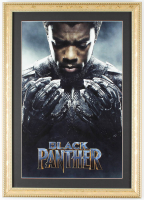 """Black Panther"" 14.75x20.75 Custom Framed Print Display at PristineAuction.com"