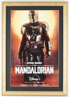 """The Mandolorian"" 14.75x20.75 Custom Framed Print Display at PristineAuction.com"