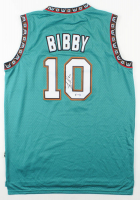 Mike Bibby Signed Grizzlies Jersey (PSA COA) at PristineAuction.com