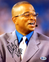 Stuart Scott Signed 8x10 Photo (Beckett Hologram) at PristineAuction.com