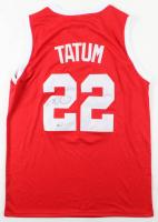 Jayson Tatum Signed Jersey (Beckett Hologram) at PristineAuction.com