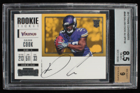 Dalvin Cook 2017 Panini Contenders #349 Autographs SP (BGS 8.5) at PristineAuction.com