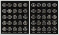 Complete Set of (50) U.S. State Quarters with Display Folder at PristineAuction.com