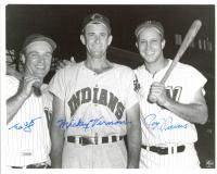Ed Yost, Roy Sievers & Mickey Vernon Signed 8x10 Photo (JSA COA) at PristineAuction.com