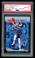 Luka Doncic 2019-20 Hoops Get Out the Way Winter #1 (PSA 10) at PristineAuction.com