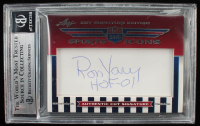 Bruce Smith / Ron Yary 2010 Leaf Sports Icons Cut Signatures Update Dual Cuts #103 (BGS Encapsulated) at PristineAuction.com
