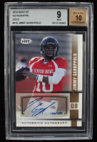 Jimmy Garoppolo 2014 SAGE HIT Autographs Gold #A10 (BGS 9) at PristineAuction.com