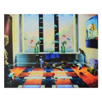 """Ferjo Signed """"Mystic View"""" Limited Edition 40x32 Giclee on Canvas at PristineAuction.com"""