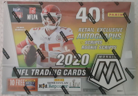 2020 Panini Mosaic Football Mega Box of (10) Packs at PristineAuction.com