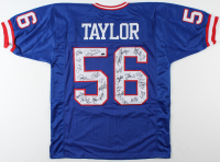 Jersey Team Signed by (27) with Phil Simms, Lawrence Taylor, Jeff Hostetler, Mark Bavaro, Carl Banks, Pepper Johnson, Ottis Anderson, Bart Oates (Schwartz COA) at PristineAuction.com
