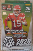 2020 Panini Mosaic Football Hanger Box with (20) Cards at PristineAuction.com