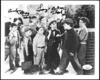 "Gordon ""Porky"" Lee & Tommy ""Butch"" Bond Signed ""Our Gang"" 8x10 Photo (JSA COA) at PristineAuction.com"