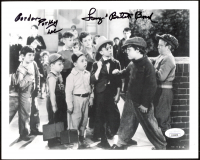 "Gordon ""Porky"" Lee & Tommy ""Butch"" Bond Signed ""Our Gang"" 8x10 Photo (JSA COA) at PristineAuction.com"