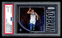 Luka Doncic 2019-20 Panini Prizm Get Hyped! #6 (PSA 10) at PristineAuction.com