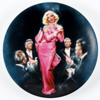 "Marilyn Monroe LE ""Diamonds Are A Girl's Best Friend"" 1990 Delphi Porcelain Plate at PristineAuction.com"