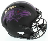 Mark Andrews Signed Ravens Full-Size Eclipse Alternate Speed Helmet (Beckett COA) at PristineAuction.com