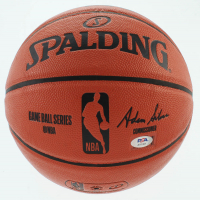 Luka Doncic Signed Official NBA Game Ball Basketball (PSA COA) at PristineAuction.com