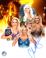 Charlotte Flair Signed WWE 8x10 Photo (Pro Player Hologram) at PristineAuction.com