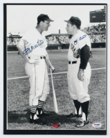 Stan Musial & Yogi Berra Signed 11x14 Photo (PSA COA & Stan Musial COA) at PristineAuction.com