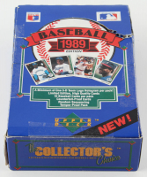 1989 Upper Deck Baseball Low Series Box of (36) Packs at PristineAuction.com