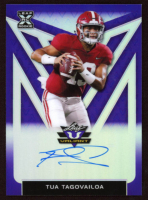 Tua Tagovailoa 2020 Leaf Valiant All American Purple #AATT1 at PristineAuction.com