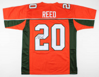 Ed Reed Signed Jersey (JSA COA) at PristineAuction.com