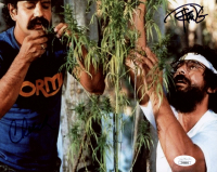 Cheech Marin & Tommy Chong Signed 8x10 Photo (JSA Hologram) at PristineAuction.com