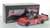 Regan Smith Signed LE #7 TaxSlayer We Support Our Troops 2013 Chevy Camaro 1:24 Diecast Car (JSA COA) at PristineAuction.com