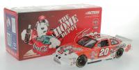 Tony Stewart Signed LE #20 Home Depot / Coca-Cola Polar Bear 2001 Pontiac Grand Prix 1:24 Diecast Car (JSA COA) at PristineAuction.com
