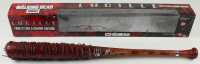 "Jeffrey Dean Morgan Signed ""The Walking Dead"" Lucille Barbed Wire Baseball Bat (Radtke COA) at PristineAuction.com"