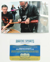 "Jeffrey Dean Morgan Signed ""The Walking Dead"" Lucille Barbed Wire Baseball Bat (Radtke COA) at PristineAuction.com"