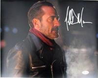 "Jeffrey Dean Morgan Signed ""The Walking Dead"" 11x14 Photo (JSA Hologram) at PristineAuction.com"