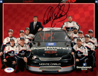 Dale Earnhardt Signed NASCAR 8x10 Photo (PSA LOA) at PristineAuction.com