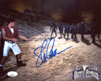 "Steve Cardenas Signed ""Mighty Morphin Power Rangers: The Movie"" 8x10 Photo (JSA COA) at PristineAuction.com"